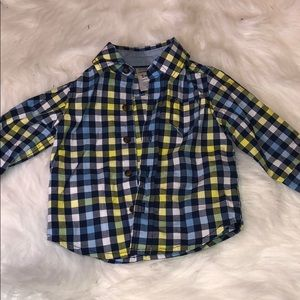 Carters 3M Button Down Long Sleeve